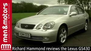 lexus toyota toyota lexus gs430 review with richard hammond 2001 youtube