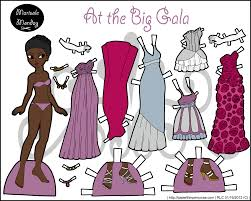 printable paper dolls free printable paper doll marisole monday