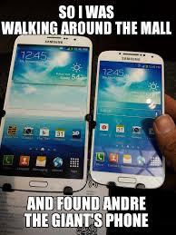 Galaxy Phone Meme - galaxy mega galaxy s4 on right for comparison meme by toidles