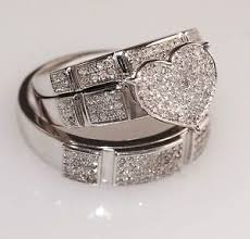 wedding rings sets for him and 39 beautiful wedding ring sets his and hers white gold wedding idea