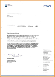 real cover letters that worked 5 work certificate example hr cover letter