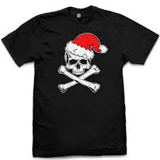 christmas shirts pins bones christmas shirts skull and crossbone santa