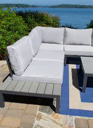Lakeview Outdoor Furniture by Lakeview 4pc Outdoor Patio Sectional Set Tortuga Outdoor