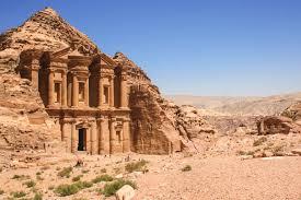 stone desert petra the rose red desert stone city breathe with us