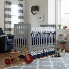 Gray Baby Crib Bedding Neutral Gender Elephant Baby Bedding All Modern Home Designs