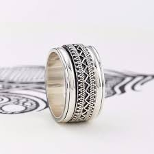 mens spinner rings men s spinner rings unique boho jewellery s web