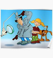 inspector gadget posters redbubble