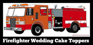 firefighter wedding cake firefighter wedding cake toppers mccoy blaske
