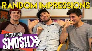 Challenge Smosh Random Impressions Challenge Ft Smosh Mikey Bolts