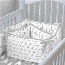 silver gray arrow crib bedding carousel designs