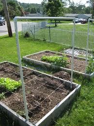 Garden Netting Trellis Diy Pvc Trellis 15 U0027 Of 3 4