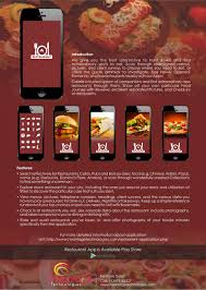 application android cuisine hvantage s restaurantapp builder allows you to create smart