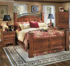 Ashley Home Furniture Timberline King Poster Bed By Ashley Home Gallery Stores