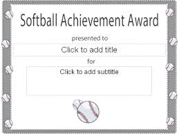images of baseball award certificate template sc