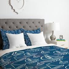 Blue Spot Duvet Cover Coastal Duvet Cover Sets You U0027ll Love Wayfair