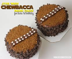 starwars cakes wars chewbacca smash cakes justjenn recipes justjenn recipes
