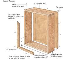Cabinet Assembly Woodworking Plans Built In Cabinets Woodworking At Home