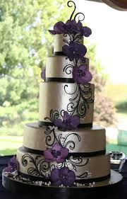 purple and silver wedding wedding cakes purple and silver idea in 2017 wedding