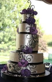 wedding cakes purple and silver idea in 2017 bella wedding