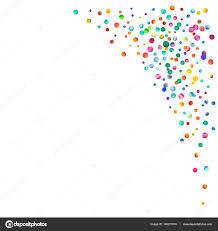 Rightcorner Dense Watercolor Confetti On White Background Rainbow Colored