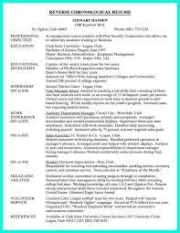 resume chronological format beautiful resume chronological format 25 best ideas about
