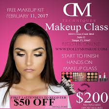 makeup classes ta fl dolly studios microblading lash extensions makeup