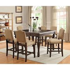 Best Counter Table Sets Images On Pinterest Kitchen Tables - 7 piece dining room set counter height