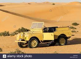 land rover dubai land rover from the 50s before sand dunes desert safari dubai