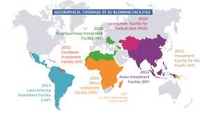 France On A World Map by Innovative Financial Instruments Blending European Commission
