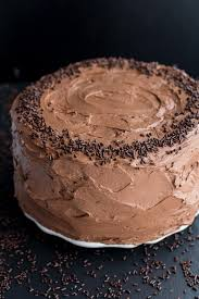 best ever simple chocolate birthday cake with whipped chocolate