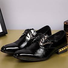 wedding shoes black classic style business leather shoes men s toes leather