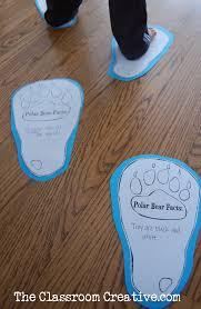 polar bear facts activity for kids free printable winter iarna
