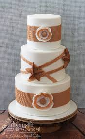 western wedding cakes rustic burlap western wedding cake cake by alwayswithcake
