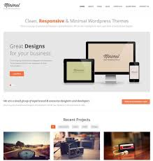 clean u0026 minimal wordpress themes and templates i love most