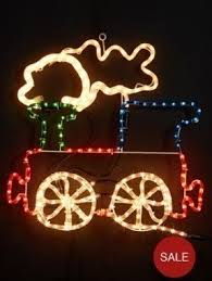 outdoor christmas train decoration foter