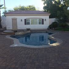 backyard designs pool for traditional las vegas with stone and