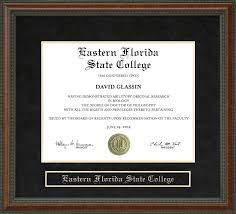 college diploma frame eastern florida state college diploma frame wordyisms