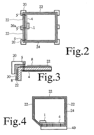 patent ep2350543b1 container for storing articles at a drawing