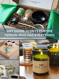 gift guide 15 gifts for the person who has everything curbly