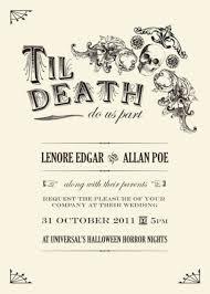 51 spooky halloween wedding invitations ideas vis wed