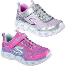 galaxy shoes light up skechers girls galaxy lights light up sporty casual trainers shoes