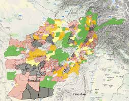 Tabqa Dam Raqqa Syria Google Maps by Us Airstrikes Causing Panic The Taliban U0027s Map Of Afghanistan How