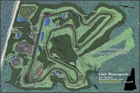 Road America Track Map by Club Motorsports Scda