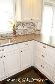 Types Of Backsplash For Kitchen - best 25 kitchen tile backsplash with oak ideas on pinterest
