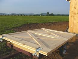 How To Build A Large Shed From Scratch by Barn Door Construction How To Build Sliding Barn Doors