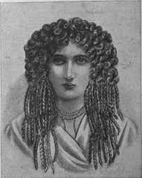 information on egyptain hairstlyes for and wig history