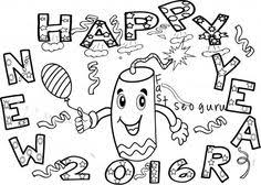 happy new year preschool coloring pages printable happy new year fireworks coloring pages happy new year