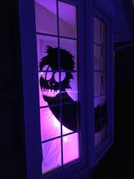 halloween window silhouettes beetlejuice worm window silhouette for o u0027vega halloween theme