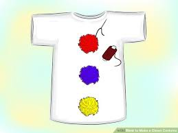 clown costume how to make a clown costume 13 steps with pictures wikihow