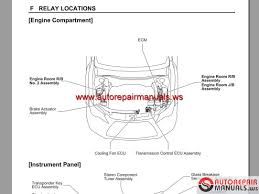 toyota camry 2015 workshop manual free auto repair manuals
